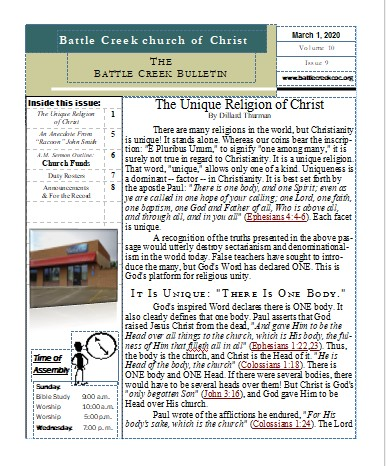 Battle Creek Church of Christ